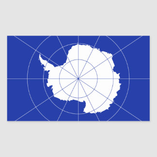 Antarctica Flag Sticker* Rectangular Sticker