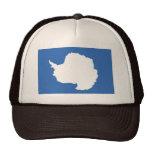 Antarctica Flag Trucker Hats