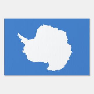 Antarctica Flag Yard Sign