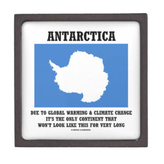 Antarctica Global Warming Climate Change Continent Gift Box