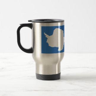 Antarctica High quality Flag Travel Mug