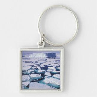 Antarctica Ice flow Key Chain