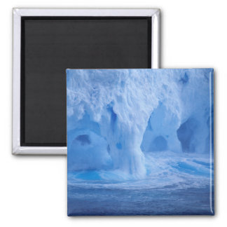 Antarctica. Iceberg with breaking waves Refrigerator Magnet