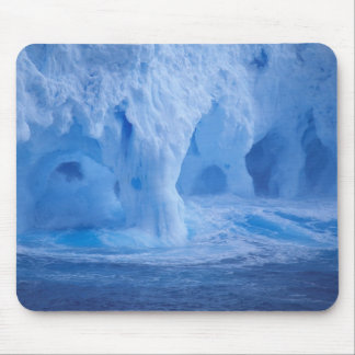 Antarctica. Iceberg with breaking waves Mouse Pad