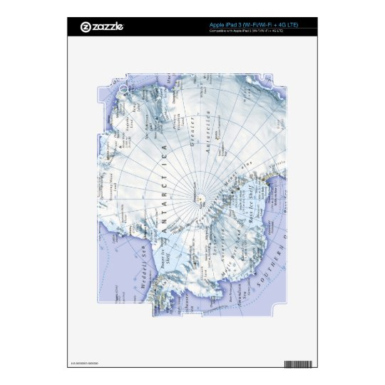 Antarctica iPad 3 Decals