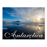 Antarctica. Near Adelaide Island. The Gullet 2 Postcard
