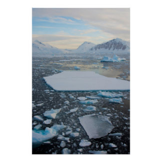 Antarctica. Near Adelaide Island. The Gullet 2 Poster
