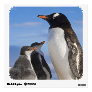 Antarctica, Neko Cove (Harbour). Gentoo penguin 2 Wall Decal