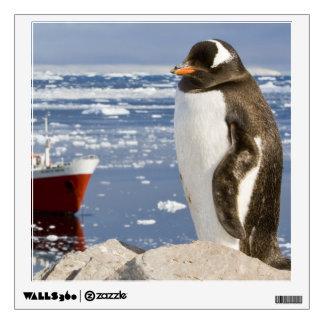 Antarctica, Neko Cove (Harbour). Gentoo penguin Wall Sticker