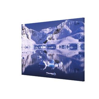 Antarctica, Paradise Bay Canvas Prints