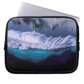 Antarctica, Paradise Bay. Iceberg in crystal Laptop Sleeve
