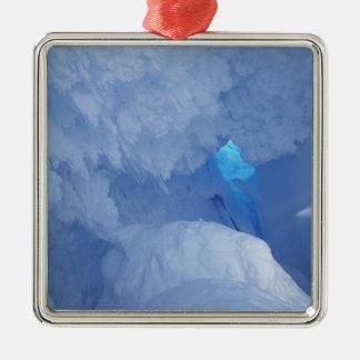 Antarctica Ross Island Cape Evans Snow cave Christmas Ornament