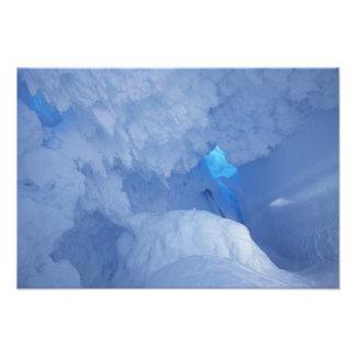 Antarctica, Ross Island, Cape Evans, Snow cave Photo Art