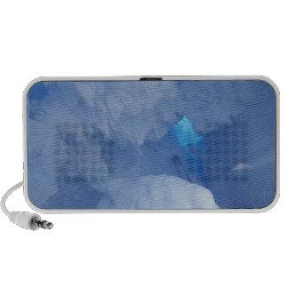 Antarctica Ross Island Cape Evans Snow cave iPod Speakers