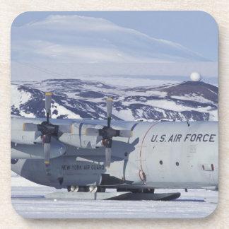 Antarctica, Ross Island, McMurdo station, C-130 Beverage Coaster