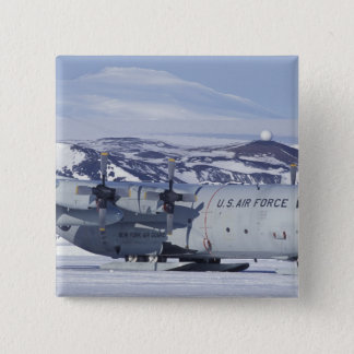 Antarctica, Ross Island, McMurdo station, C-130 Button