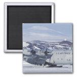 Antarctica, Ross Island, McMurdo station, C-130 Refrigerator Magnets