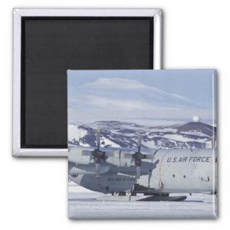 Antarctica, Ross Island, McMurdo station, C-130 Magnet