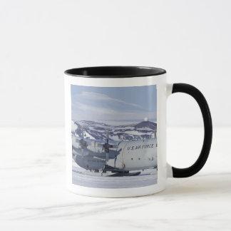 Antarctica, Ross Island, McMurdo station, C-130 Mug