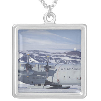 Antarctica Ross Island McMurdo station C-130 Personalized Necklace