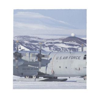 Antarctica, Ross Island, McMurdo station, C-130 Notepad
