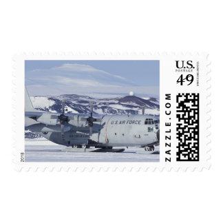 Antarctica Ross Island McMurdo station C-130 Stamps