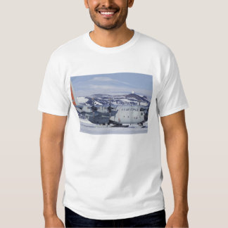 Antarctica, Ross Island, McMurdo station, C-130 T Shirt