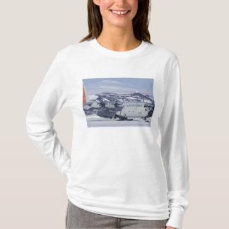 Antarctica, Ross Island, McMurdo station, C-130 T-Shirt