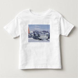 Antarctica, Ross Island, McMurdo station, C-130 Toddler T-shirt