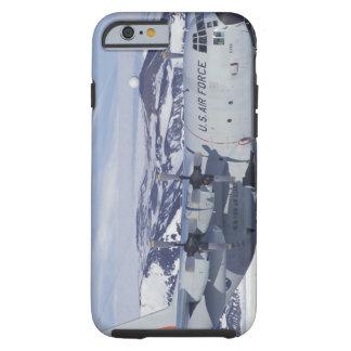 Antarctica, Ross Island, McMurdo station, C-130 Tough iPhone 6 Case