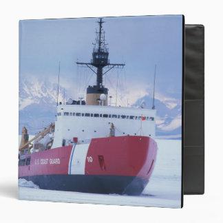 Antarctica, Ross Island, McMurdo Station, USCG 3 Ring Binder
