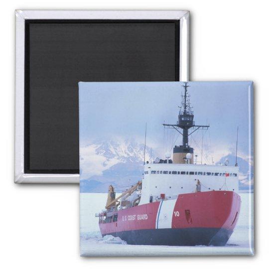 Antarctica, Ross Island, McMurdo Station, USCG Magnet