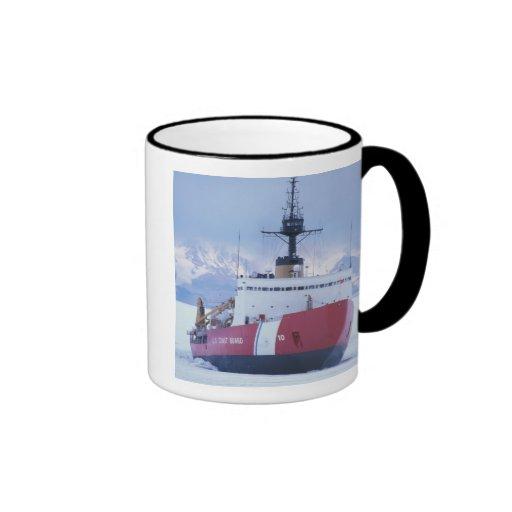 Antarctica, Ross Island, McMurdo Station, USCG Ringer Coffee Mug