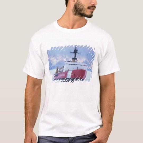 Antarctica, Ross Island, McMurdo Station, USCG T-Shirt