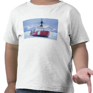 Antarctica Ross Island McMurdo Station USCG Tshirt