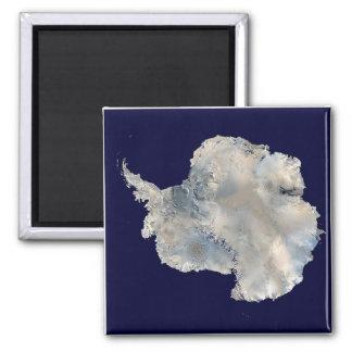 Antarctica Satellite Image Magnet