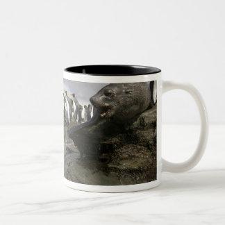 Antarctica, South Georgia Island (UK), Antarctic Two-Tone Coffee Mug