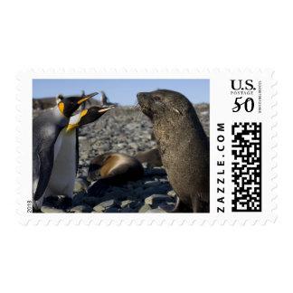 Antarctica, South Georgia Island (UK), King 15 Postage
