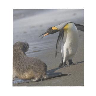 Antarctica, South Georgia Island (UK)King Notepad