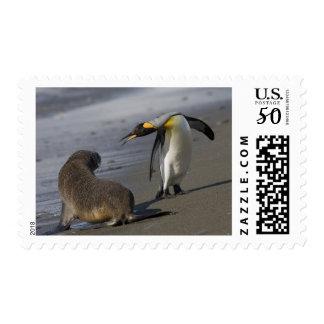 Antarctica, South Georgia Island (UK)King Postage