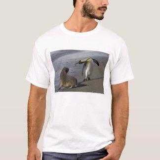 Antarctica, South Georgia Island (UK)King T-Shirt