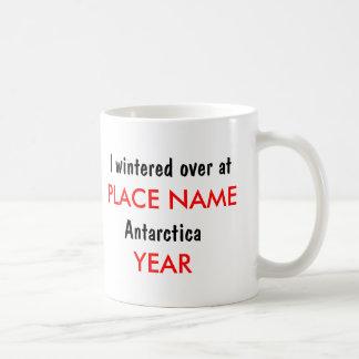 Antarctica* Wintering Over Custom Mug