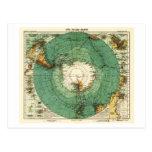 AntarcticaPanoramic MapAntarctica Post Card