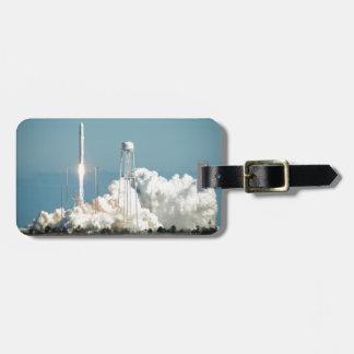 Antares Rocket Launch Travel Bag Tags