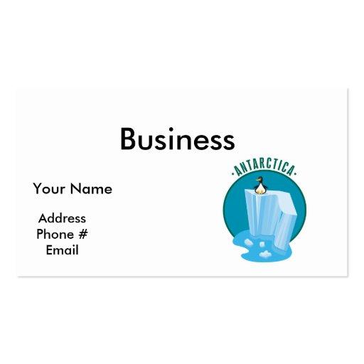 antartica penguin design Double-Sided standard business cards (Pack of 100)