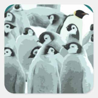 Antartica Square Sticker
