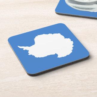 Antartican Flag Drink Coaster