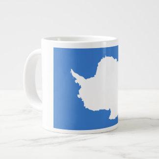Antartican Flag Extra Large Mugs