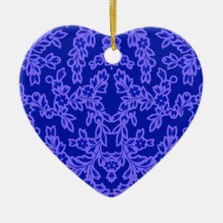 antaus blue ceramic ornament
