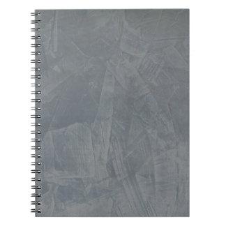 Ante gris libro de apuntes